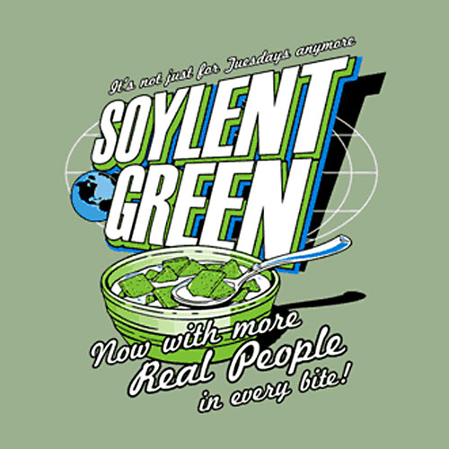 soylent green blood in hall